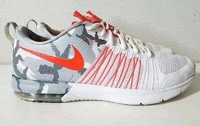 5950596206 Nike Air Max Effort TR 705353-161 Crimson and Camo Men's Training Shoes  Size 13