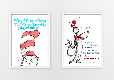 A3 Cat in the Hat Prints