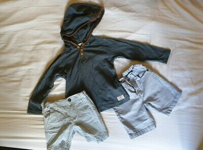 Boys bulk mixed Jumper Hoodie Shorts Size 3-4