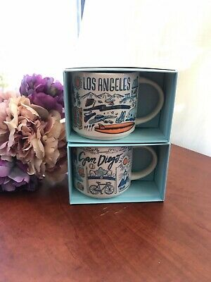 Collectible Starbucks Been There Series 14 oz Choose from San Diego /Los Angeles