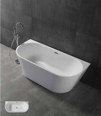 "Free Standing Bath Tub ""Thin Edge"" 1495x750x570 With Overflow"