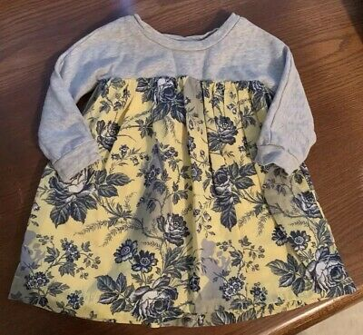 5df47c591 BabyGap Disney Size 2T Gray Long Sleeved Baby Girl Sleeping Beauty Dress
