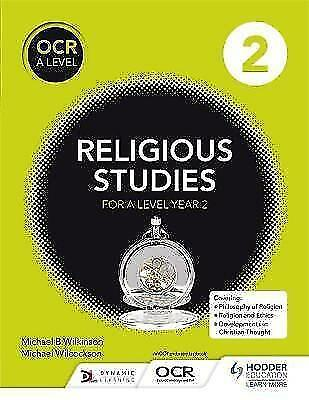OCR Religious Studies A Level Year 2 by Michael Wilcockson, Michael Wilkinson...