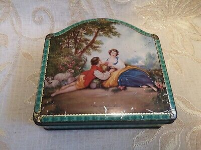 Vintage Peek Frean & Co. Ltd. Biscuit Manufacturers ''The Shepherdess'' Tin
