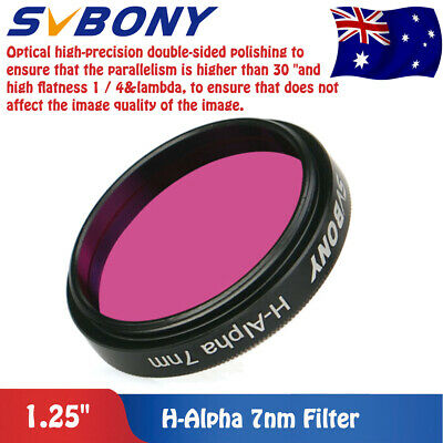 "SVBONY  H-Alpha 7nm 1.25""Filters Narrowband Astronomical Photographic Filter AU"