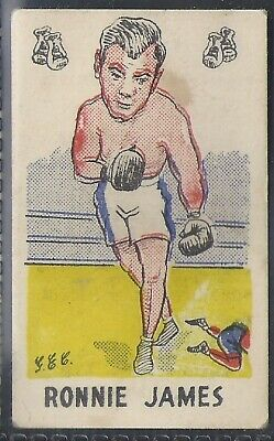 Baytch-Fighting Favourites-#19- Boxing - Ronnie James