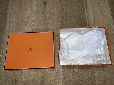 Hermes Orange Gift Empty Box