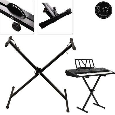 Glarry Heavy Duty Piano Keyboard Stand x Style Frame Height Adjustable