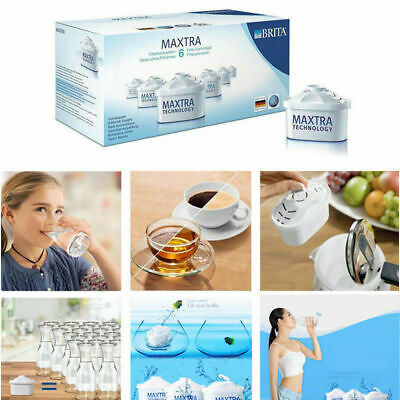 6 Packs Brita Maxtra Water Filter Jug Refills Genuine Replacement Cartridges