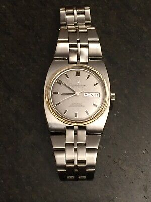 Omega Constellation Mens Automatic Watch Day/Date Original Metal Strap 1970s
