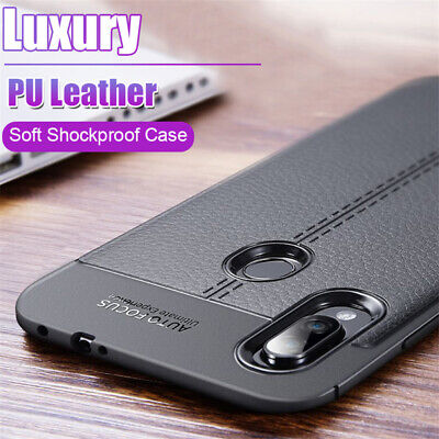 For Xiaomi Redmi Note 8T 8 7 6 5 Pro Shockproof Silicone TPU Leather Case Cover