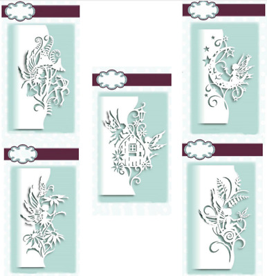 5 Fairy Lace Edge Metal Cutting Dies Stencils Scrapbooking Embossing Crafts DIY
