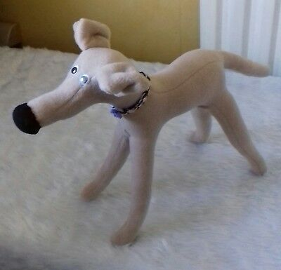 Maisie - Original Huggyhound cuddly toy greyhound / whippet huggypuppy