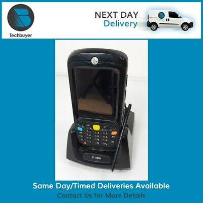 Motorola MC55A0-P20SWRQA7WR Barcode Scanner with cradle stylus and spare battery