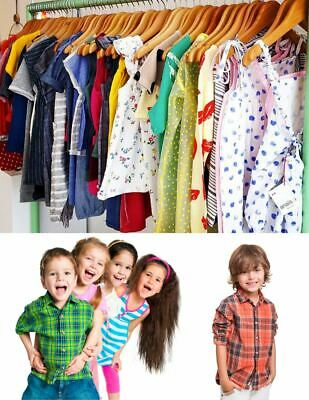 Second Hand Used Clothes Kids Mix 100 Pieces Premium  A+ Grade £1.00 Each