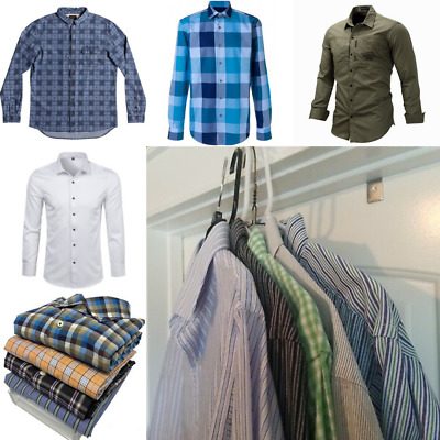 Second Hand Used Clothes 500 Men's Premium A+ Grade Assorted £1.00 Each