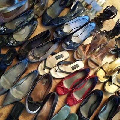 Second Hand Used Women Shoes 20 KG Wholesale Premium Grade A+ £3.50 per KG