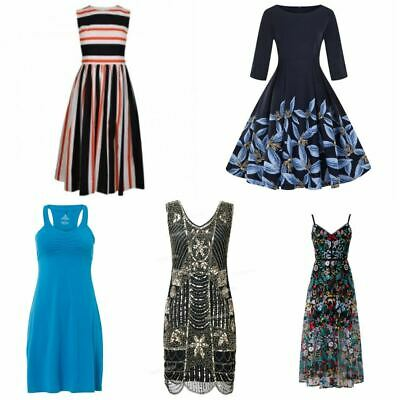 Second Hand Used Clothes 80 x Women's Dresses Re-Wearable Grade B £1.00 Each.