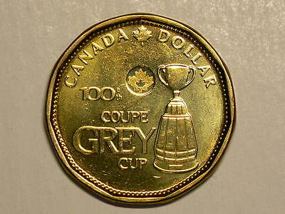 🍁 2012 Canada Grey Cup $1 Dollar Doubling on Date Variety #6664