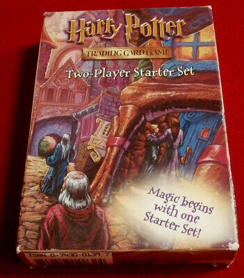 HARRY POTTER Trading Card Game - FULLY SEALED CONTENTS - Wizards 2001