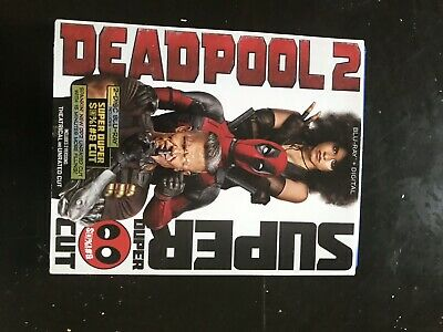 Deadpool 2 super duper cut and Theatrical (2discs) with Slip Cover