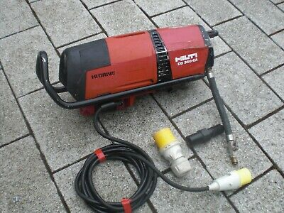 New Shape High Drive Hilti DD350 CA 110v Core Drill dd200 no rig stand