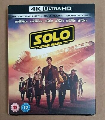 Solo: A Star Wars Story 4K UHD DVD New Sealed