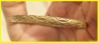 EXTREMELY Ancient antique BRONZE unique BRACELET museum quality ARTIFACT rare