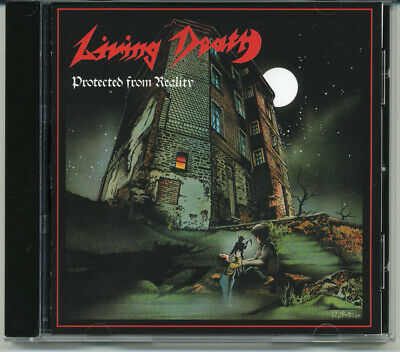 """Living Death """"Protected From Reality"""" 1987, CD"""
