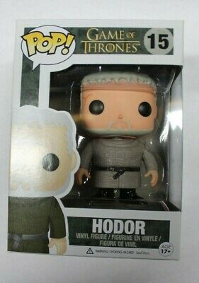 Funko Pop! HBO Game of Thrones HODOR #15 Vinyl VAULTED