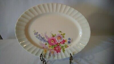 The Edwin M. Knowles China Co. U.S.A. 36-8 Vintage Oval Serving Platter