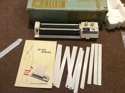 KNIT RADAR KR 6 for Knitmaster Knitting Machines with manual