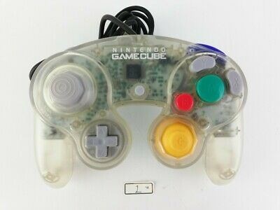 Nintendo Official GameCube Wii Controller Pad Clear GC Japan  No.3