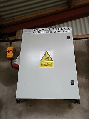 Digital Phase Convertor - Great Condition - 240V to 415V, Plug & Play, 5hp