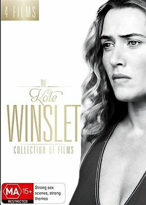 The KATE WINSLET Collection Of Films DVD 4-MOVIES 4-DISC SET BRAND NEW R4