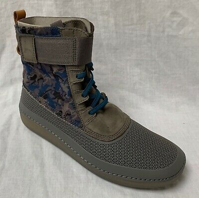 BNIB Clarks Girls Nature Rey Star Wars Grey Ankle Boots F Fitting
