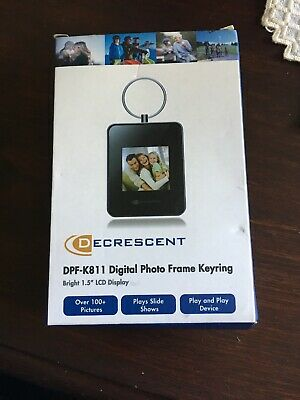 Digital Photo Viewer Keyring Holds Over 100 Photos Take Your Memories With You