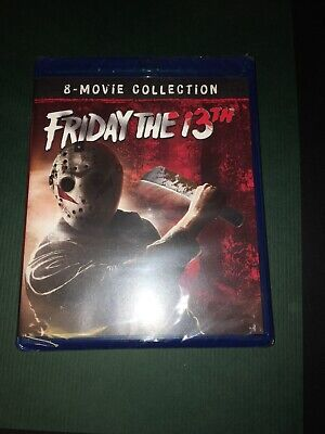 Friday The 13th (Blu-ray) 8 Movie Collection
