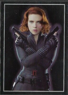 MARVEL - THE AVENGERS - STICKER COLLECTION - No 30 - BLACK WIDOW - By PANINI