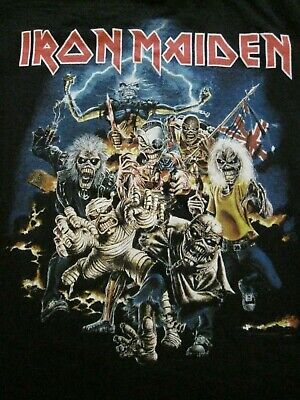 2b6587e4c8 Iron Maiden Graphic Best Of The Beast T Shirt Adult Small