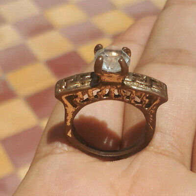 Rare Ancient Solid Ring legionary REAL Bronze Stunning Artifact Rare Type unique