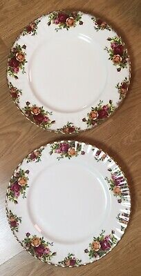 Royal Albert Old Country Roses 2 x Dinner Plates