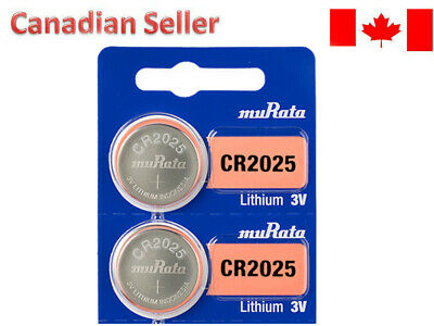 SONY ORIGNAL OEM CR2025 DL2025 Batteries coin watch battery [2P]- FREE RETURNS