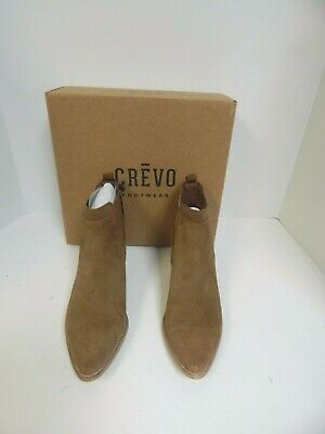 768b785884b CREVO WOMEN'S BRITAIN Bootie Tan Leather Ankle Boots - $117.58 ...