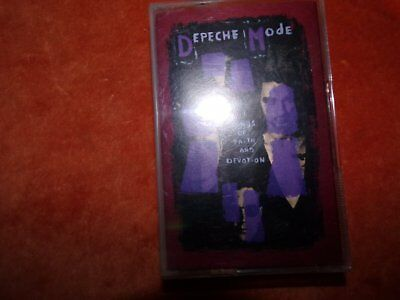 1993 Audio Cassette-By Depeche Mode- Songs Of Faith And Devotion-