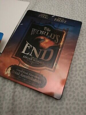 The World's End Steelbook Blu-ray UK Limited Edgar Wright Simon pegg