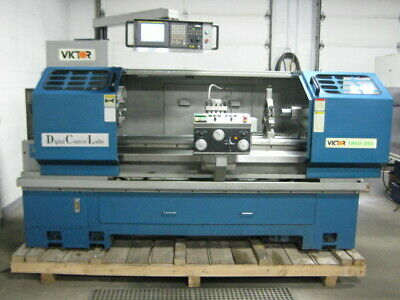 EMCO COMPACT 5 CNC Lathe DC Spindle Motor #2 & KBMD Variable Speed