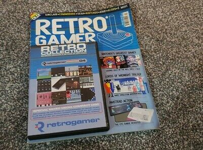 Retro Gamer Magazine - Issue 4 - Complete with Cover Disc. FAST DISPATCH!