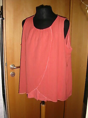 Sheego Tunika Gr.48//50 Braun Fledermausshirt Shirt Top Sommershirt Damen Spitze