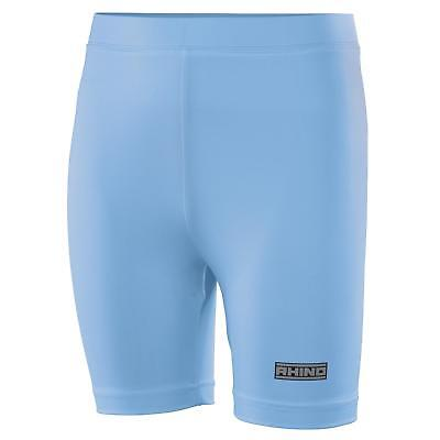 New RHINO Kids Junior Sports Base Layer PE Shorts in 14 Colours 2 Sizes